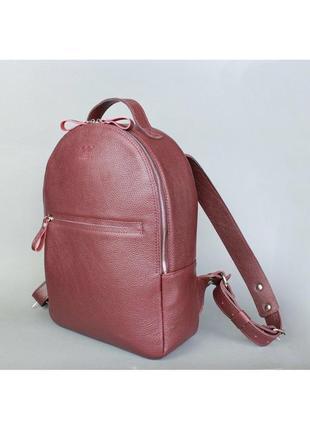 Кожа роскошный рюкзак кожаный женский городской на молнии карманы