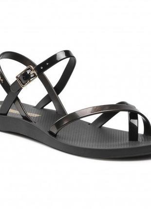 Сандалии ipanema fashion sand viii fem 82842 black/gold black 21112
