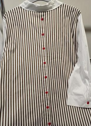 Рубашка большого размера р. 56-626 фото