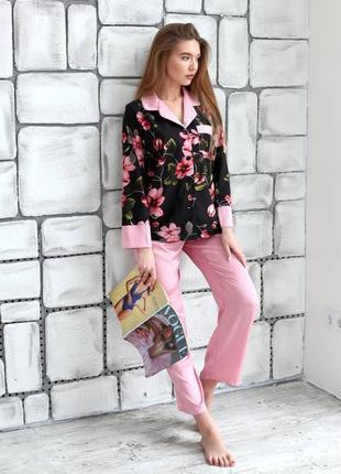 Пижама женская, костюм для дома1 фото
