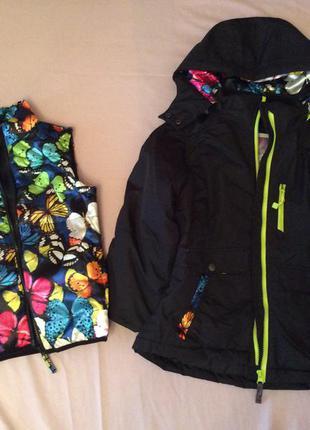 Куртки бренд 3 в 1 привезены из сша