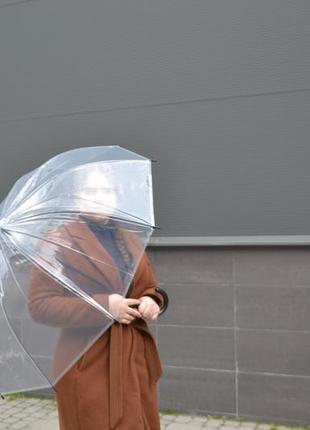 Прозора парасоля парасолька / зонт зонтик прозрачный / для фотосессии свадеб