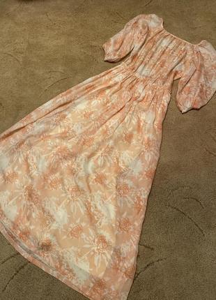 Платье шёлк винтаж