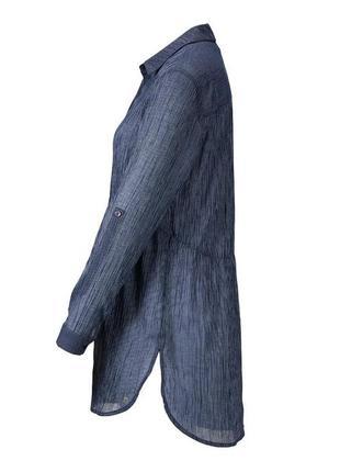 Стильная нежная хлопковая блуза-туника от tcm tchibo (чибо), германия, размер s-m4 фото