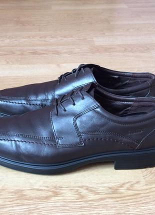 Кожаные туфли hotter 46 размера в идеальном состоянии