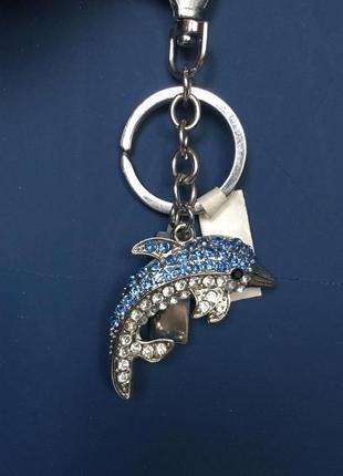 Брелок для ключей, дельфинчик