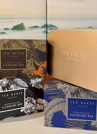 Ted baker london люкс мужской подарочный набор мыло 3 шт. и мыльница