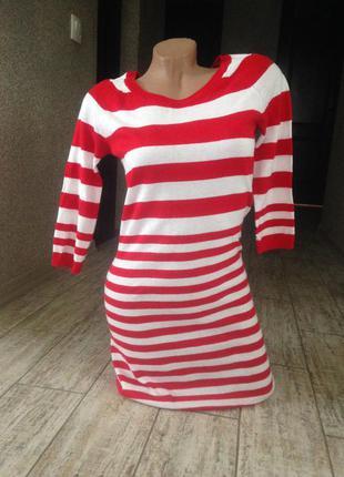 #распродажа#теплое платье-туника h&m#платье#туника#полосатое платье##