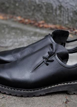 Немецкие кожаные туфли ботинки meindl 43р