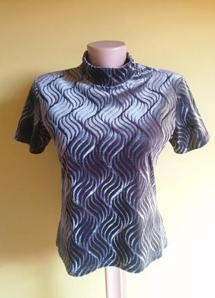 Стильна дизайнерська велюрові футболка twiggy paris.