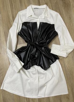 Платье-рубашка1 фото