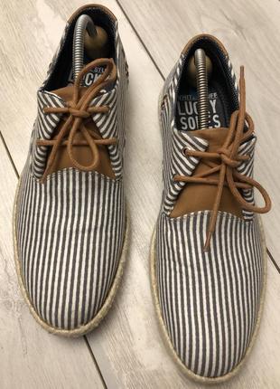 Новые мужские туфли lucky soles(43р)