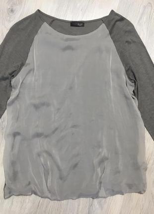 Топ футболка блуза шелк