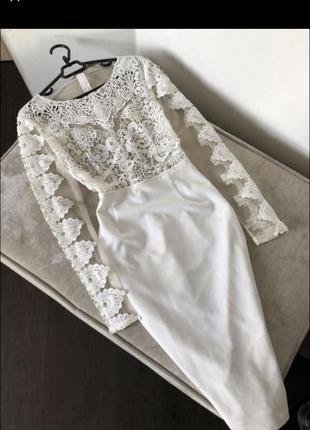 Шикарне плаття з мереживом