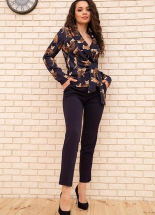Эффектный костюм брюки блуза