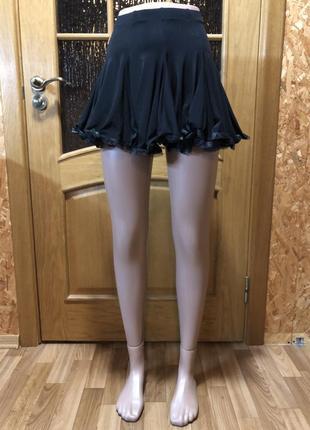 Крутая юбка для бальных танцев