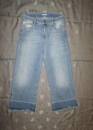 Джинсовые штаны бриджи joie clair италия