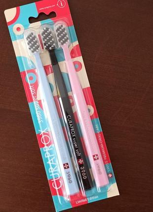 Зубні щітки curaprox 3960 super soft. зубные щетки