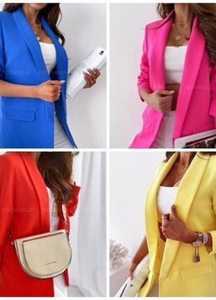 Пиджак, разные цвета. распродажа.1 фото