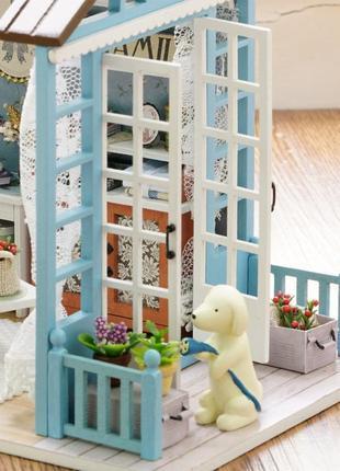 Румбокс, миниатюрный сборный дом с мебелью, 3d-конструктор diy house