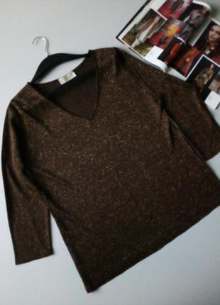 Тоненький вязаный пуловер 🌹🌹🌹480