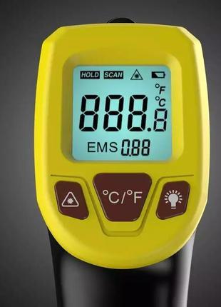 Gm320s пирометр термометр лазерный бесконтактный инфракрасный -50+600