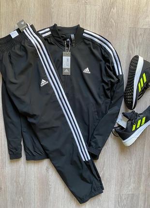 Adidas спортивный костюм оригинал кофта бомбер xl размер l