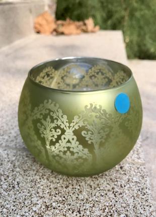 Bormioli rocco glass  франция. венецианский  бокал сферической формы