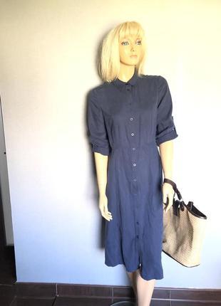 Платье рубашка коллекционное винтаж на пуговки3 фото