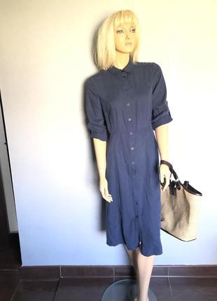 Платье рубашка коллекционное винтаж на пуговки1 фото