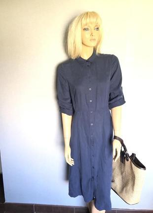 Платье рубашка коллекционное винтаж на пуговки4 фото