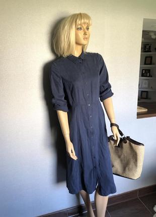 Платье рубашка коллекционное винтаж на пуговки8 фото