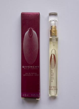 Givenchy pour homme 12 из 15ml