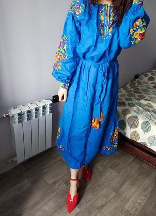 Женскоке вышитое платье, вишиванка жіноча, сукня, швидка відправка!
