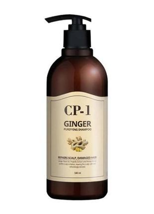 Питательный шампунь для волос cp-1 ginger purifying shampoo