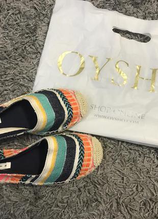 Эспадрильи oysho
