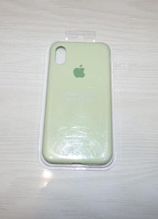 Чехол для iphone x/ xs  silicone case