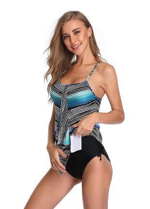 Шикарный  купальник танкини купальное  платье новая коллекция германия распродажа!