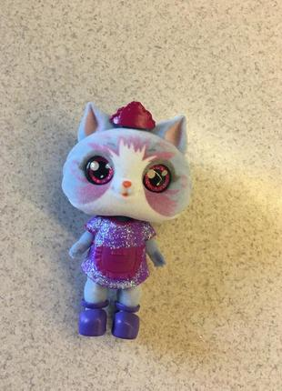 Sos pets милые зверята кукла кошечка игрушка фигурка