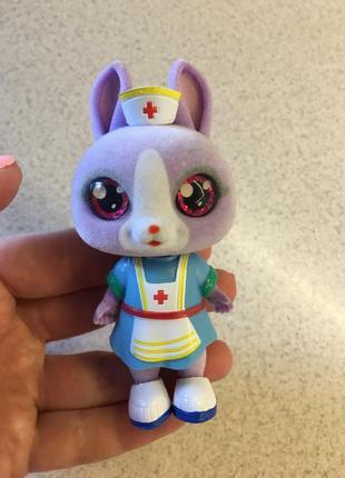 Sos pets милые зверята кукла игрушка фигурка зайка