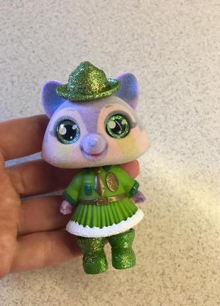 Sos pets милые зверята кукла игрушка фигурка енот
