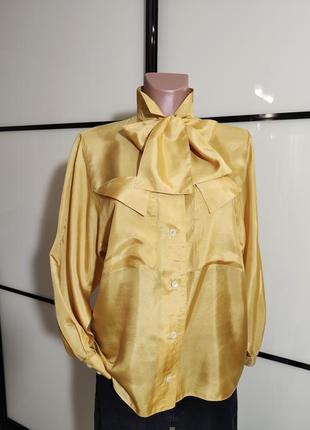 Роскошная шелковая рубашка bernad  berger