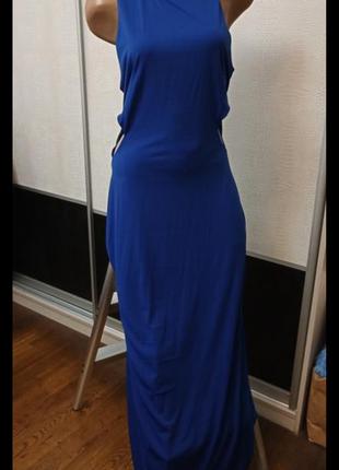 Вечернее длинное платье в пол boohoo