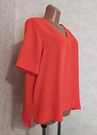 Свободная блуза оранжевого цвета, xxl