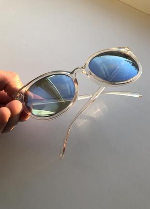 Солнцезащитные очки h&m круглой формы !