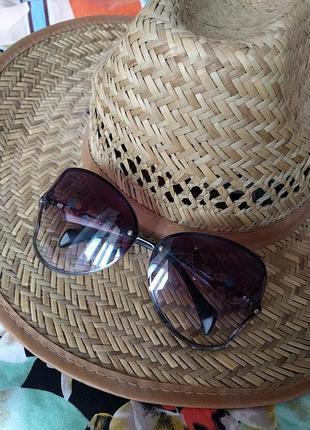 Очки солнцезащитные женские бабочки