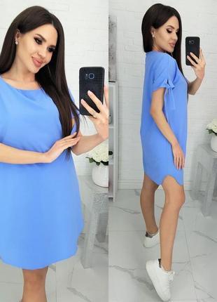 Платье оверсайз 42-60 размер