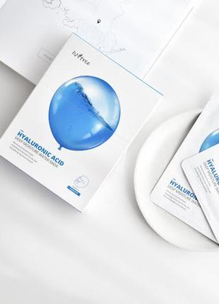 Маска гідрогелева зволожуюча isntree hyaluronic acid deep moisture water mask