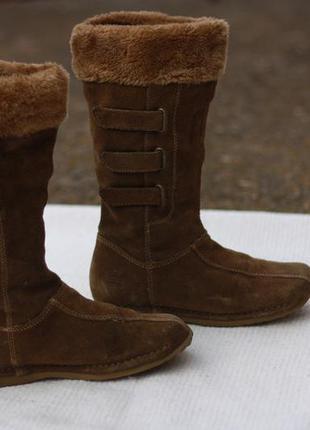 Сапоги ботинки dockers оригинал кожа демисезон