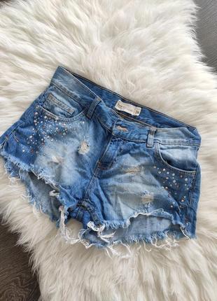 Шорты джинсовые женские 44 размер s janina